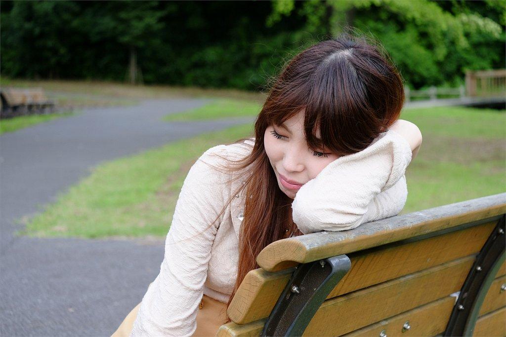 沢山歩い眠くなっちゃった。