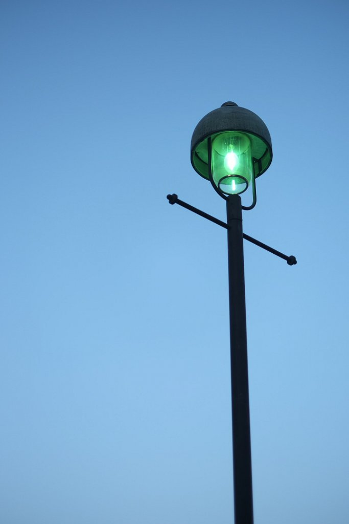 横浜街灯。