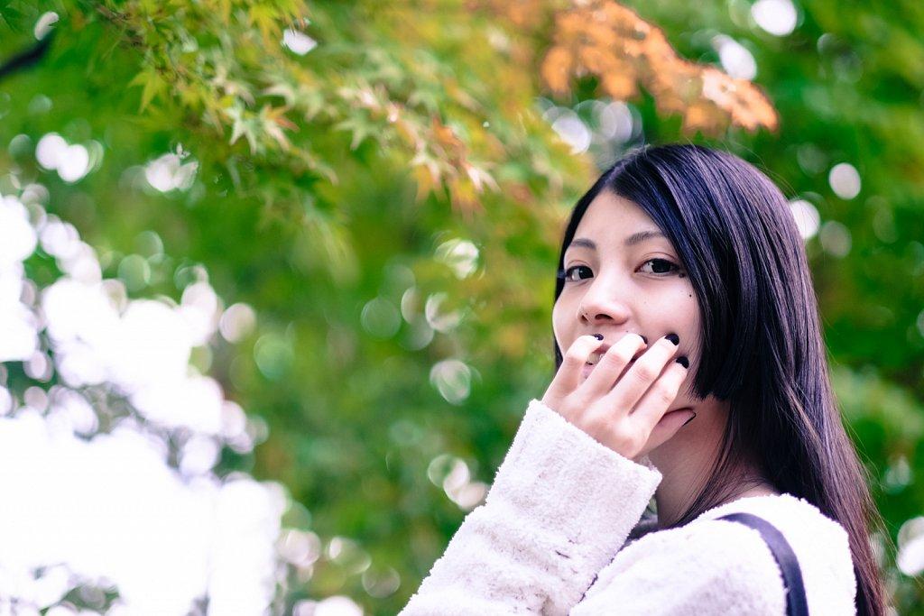 秋が近づく新宿